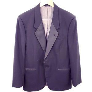 Christian Dior Black Peak Lapel Tuxedo Jacket
